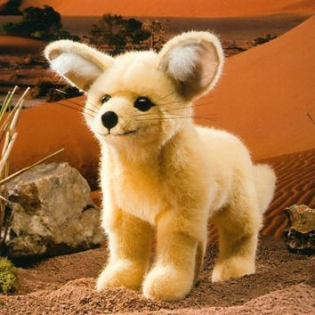 Plush Desert Fox Stuffed Animal