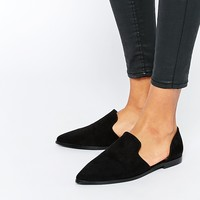 ASOS MILAN Pointed Flat Shoes