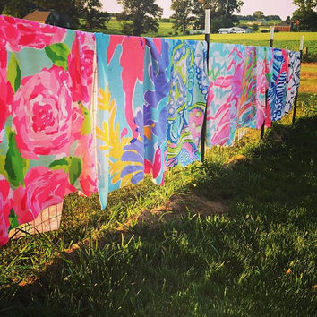 Lilly Pulitzer Inspired 36 x 72 Huge Beach Towels
