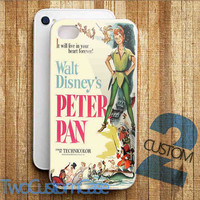 Peter Pan Walt Disney Classic - iPhone 4/4S, 5/5S, 5C Case and Samsung Galaxy S3, S4 Case.