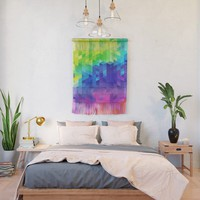 Abstract LGBT Pattern Wall Hanging by tmarchev