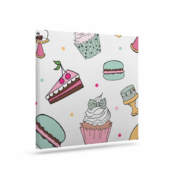 "Louise ""Sweet Sweet Cake"" Pastel Food Canvas Art"