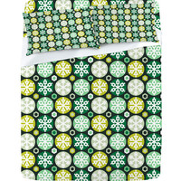 DENY Designs Home Accessories | Raven Jumpo Mod Flakes Sheet Set