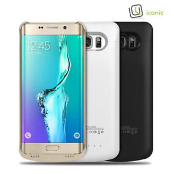 2A RAPID Charge, 4200 mAh External Battery Case for Samsung Galaxy S6 Edge Plus