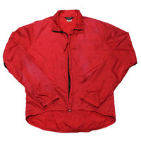 Vintage 80s Bellwether Red Running Windbreaker Jacket Mens Size Medium