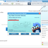 Any Video Converter 5.9.1 Crack Serial Key