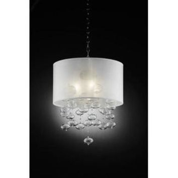 Blow glass Bubbles Pendant Celling lamp in white