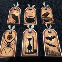 Handmade Bookmarks Witchy Goth Steampunk