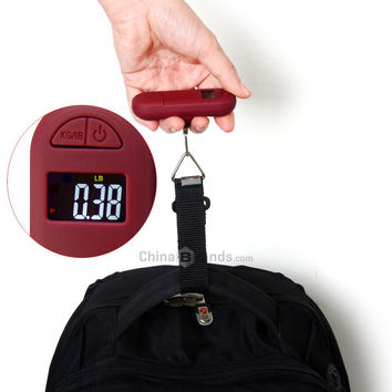 Mini Hand Carry 50kg Digital Electronic Luggage Scale