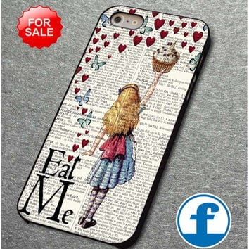 Alice in Wonderland Madhatter Chershire Cat    for iphone, ipod, samsung galaxy, HTC and Nexus PHONE CASE