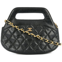 Chanel Vintage Mini Quilted Chain Shoulder Bag - Farfetch
