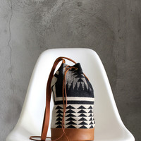 Walking Rock Mini Bucket Bag
