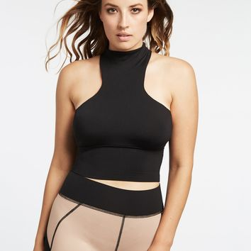 Michi Extension Crop Top - Black
