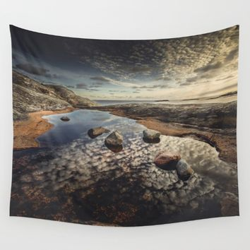 My watering hole Wall Tapestry by HappyMelvin