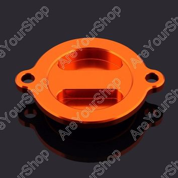 Areyourshop Motorcycle Fuel Gas Oil Filter Cap Cover MOTO For KTM Duke 200 2012-2013 Motorcycle Accessories CNC Aluminum