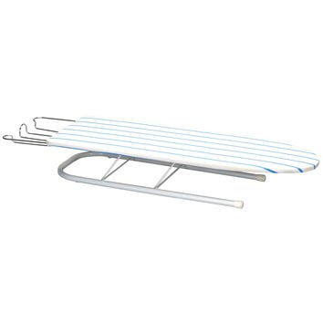 Deluxe Pressboard Tabletop Ironing Board, April stripe