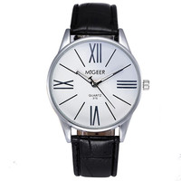Men's Analog Dress Watch, MiGeer Brand, Quartz