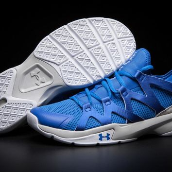 Under Armour UA Charged Phenom 2 Men Air Mesh Breathable Light Sport Running Shoes Fitness Athletic Training Sneakers 7 colors