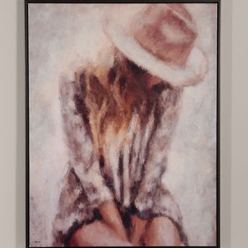 "RFA Fine Art ""Body Language"" Hand-Embellished Giclee on Canvas Wall Art"