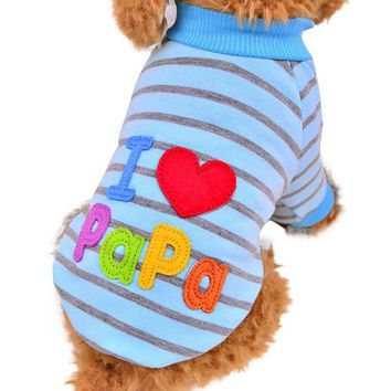 Dog Clothes Small Dogs Puppy Chihuahua Pet Clothes Pug Clothing Cat roupa pet para gato