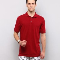 Jason Polo Tee - Red Online Shopping | 51798