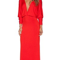 Young, Fabulous & Broke Eaton Maxi Dress in Orange