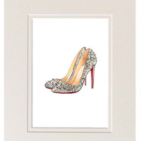 Fashion Illustration Watercolor Art by LadyGatsbyLuxePaper on Etsy