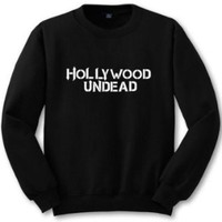 PEAPIH3 [HOLLYWOOD UNDEAD] new English sweater personalized couple sweater