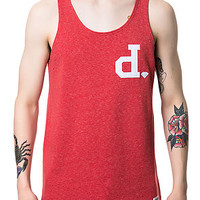 The Un Polo Tank Top in Red