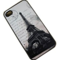 Case for Apple Iphone 4/4s Eiffel Tower France