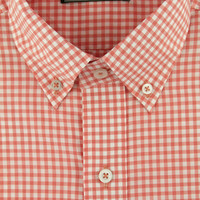 The Hadley Shirt in Shrimp Tail Gingham by Southern Point Co.