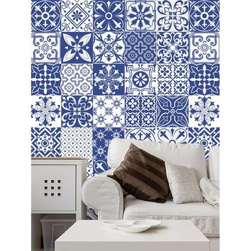 Random Porcelain Ceramic Tile Sticker 1pc