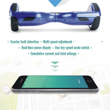 IOS APP 2 wheel electric standing scooter XIAOMI Portable Two wheel Smart Balance Wheel Motorized HOVERBOARD Scooters