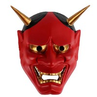 Japan Ghoul Red Scary Masquerade Prajna Scary Mask Limited Edition PVC Horror Helmet For Halloween Party Helmet Mask