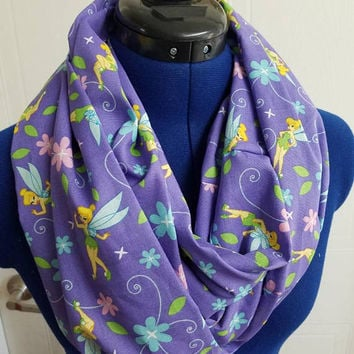 disney - princess - tinkerbell - fairy - peter - pan - neverland - infinity  - scarf