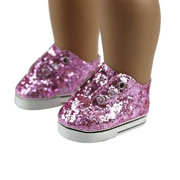 Fashon Shoes For 18inch American Girl Doll 45cm Doll Accessories