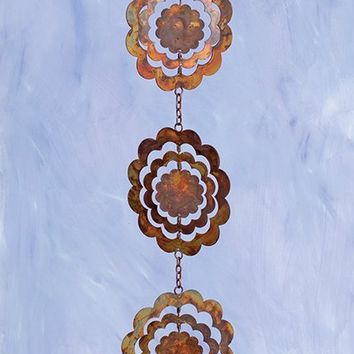 Cutout Sunflower Hanging Ornament 5pc - New item! Pre-order for August!