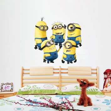 Minions Despicable Me Decal Wall Sticker