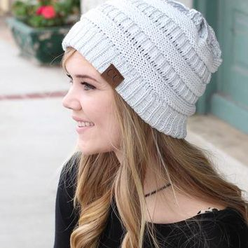 C.C. Beanie Solid Classic (MORE COLORS)