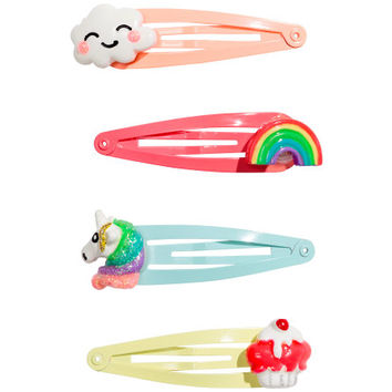 4-pack Hair Clips - from H&M