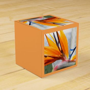 Bird of Paradise Floral Favor Box