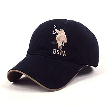 Snapback Hats Women & Men Polo Baseball Cap Sports Hat Summer Golf Caps Outdoor Casual Cotton Sunhat - Color 2
