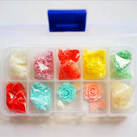 Case Packing 4000pcs 3mm Rhinestone beads wholesale 8 colors for diy jewelry supplies
