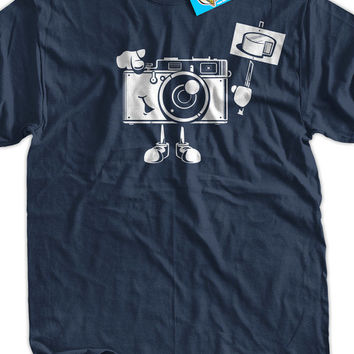 Photography Shirt Say Cheese Digital Film Camera Gifts for Photographers T-Shirt - Tee Shirt T Shirt Geek Mens Ladies Womens Youth Kids