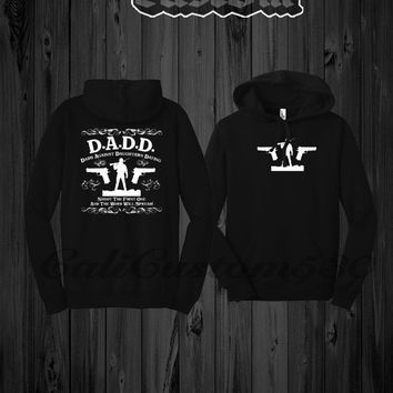 D.A.D.D. Dads Against Daughters Dating Black Hoodie