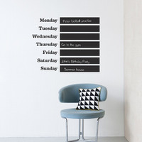 This Week Wallsticker design by Ferm Living