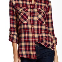 Plaid Flannel Shirt (Juniors)