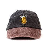 Pineapple Outdoors Cap (Black and Brown)