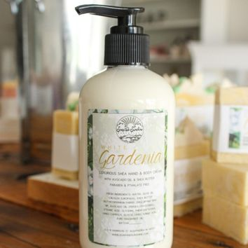 White Gardenia - Shea & Avocado Body Cream