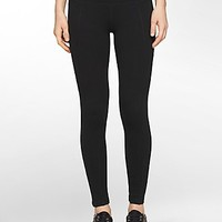 performance wide waistband seamed leggings | Calvin Klein